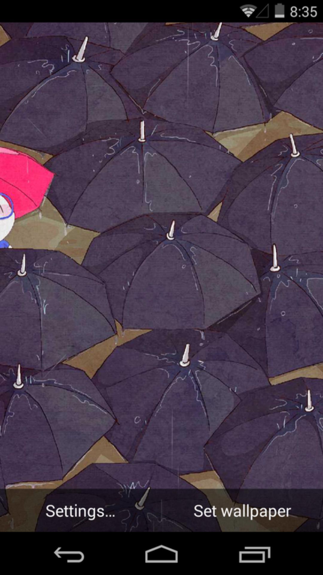 下雨天-梦象动态壁纸