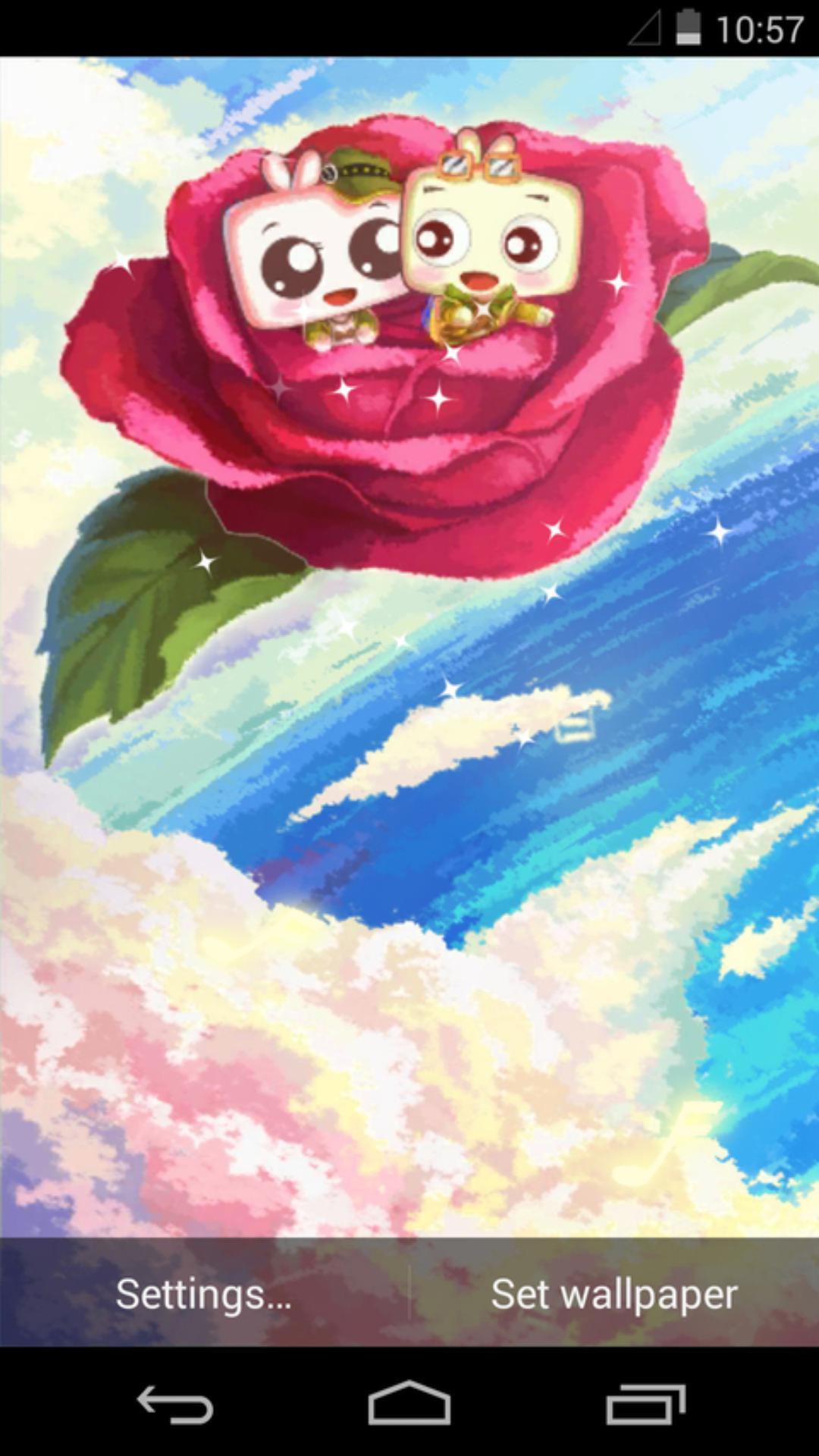 囧囧-玫瑰-梦象动态壁纸