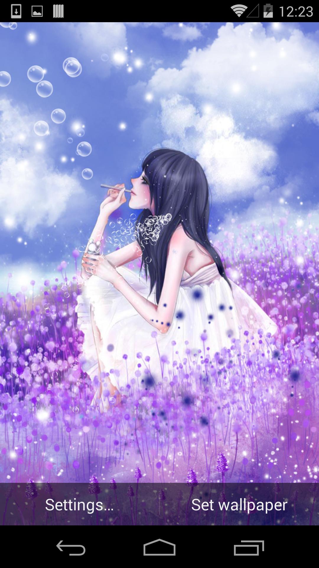 薰衣草之恋-梦象动态壁纸