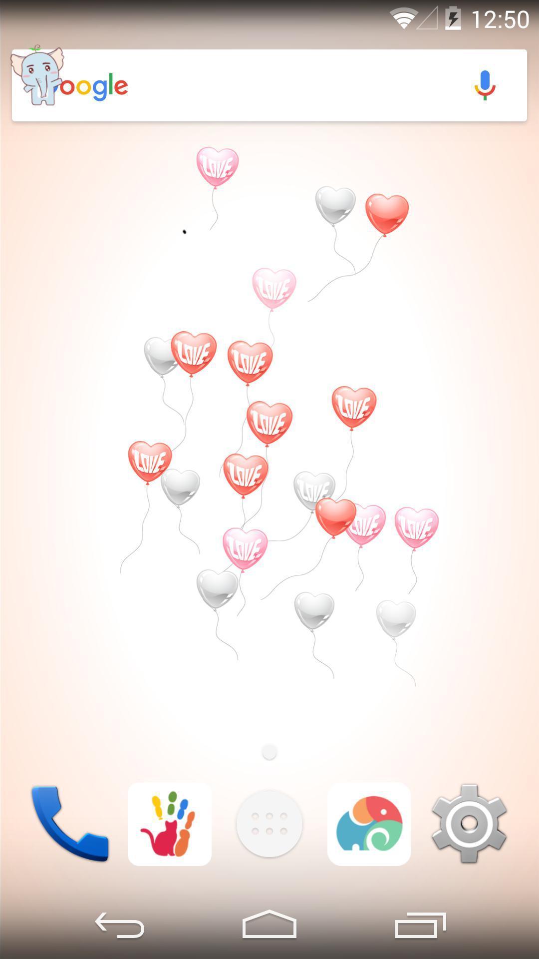 爱心气球-梦象动态壁纸