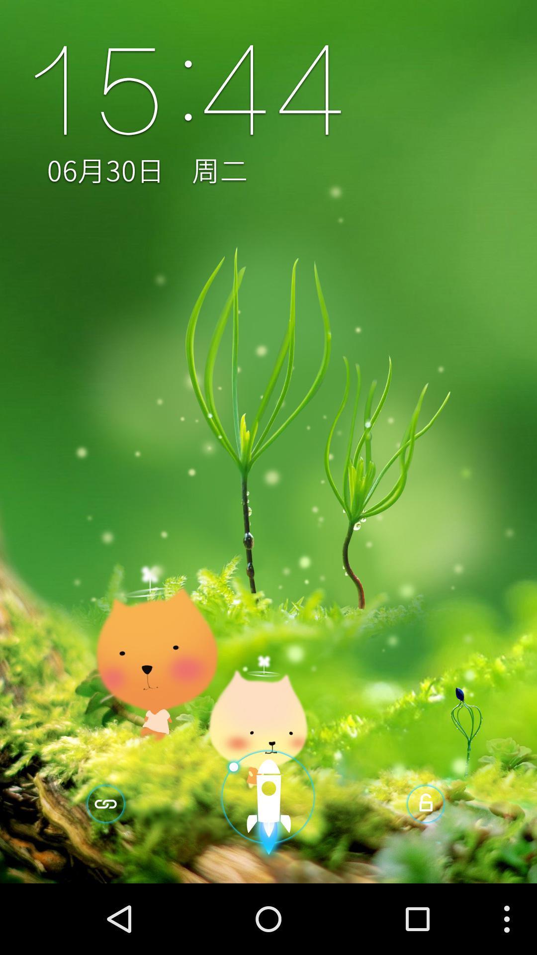 绿色清新萌宠-梦象动态壁纸