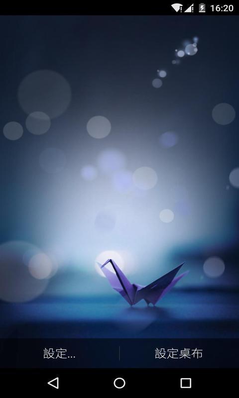 梦遇千纸鹤-梦象动态壁纸
