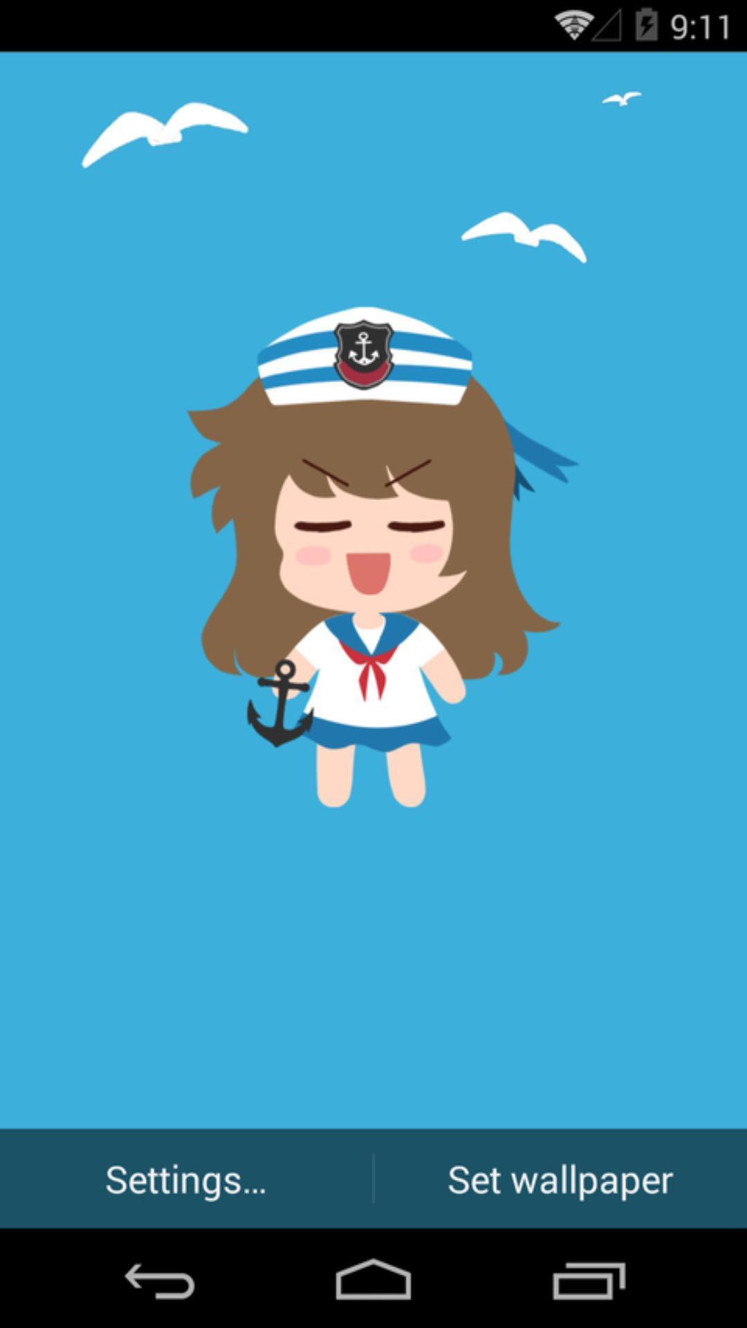 伟大的安妮-海军装-梦象动态壁纸下载