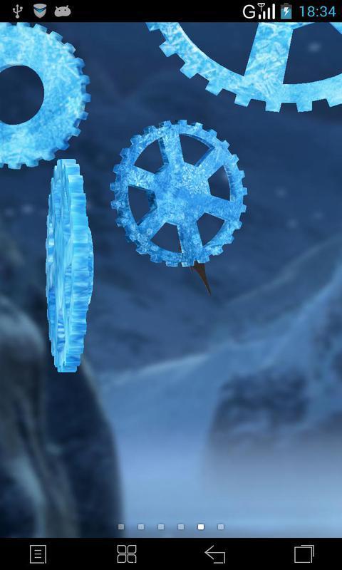 3D时光齿轮-梦象动态壁纸