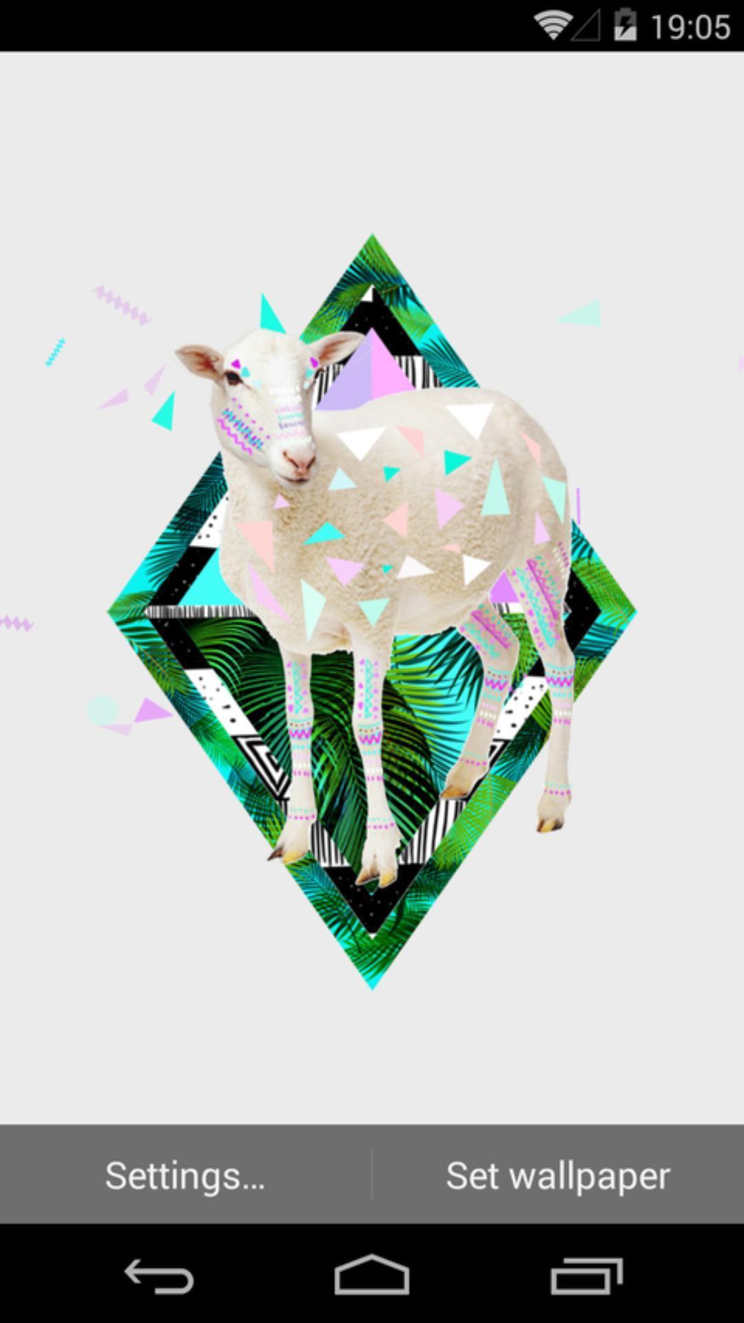 咩咩羊-梦象动态壁纸