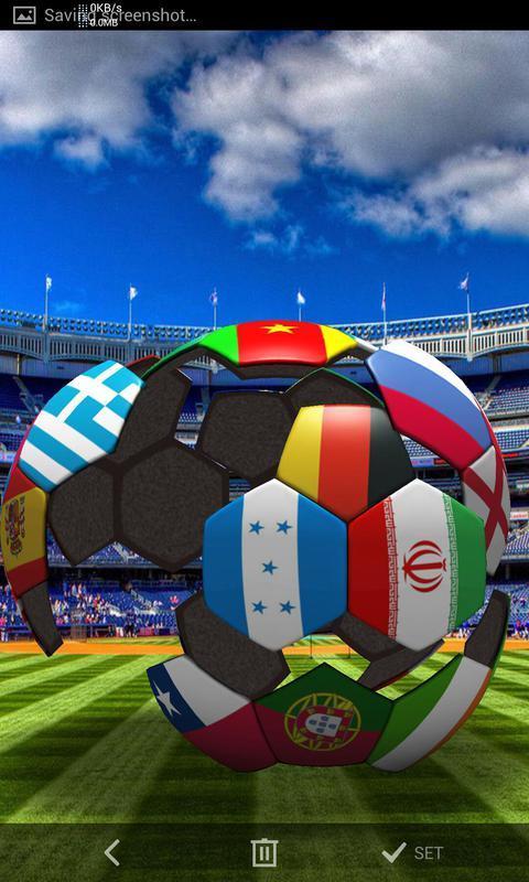 3D火爆足球-梦象动态壁纸