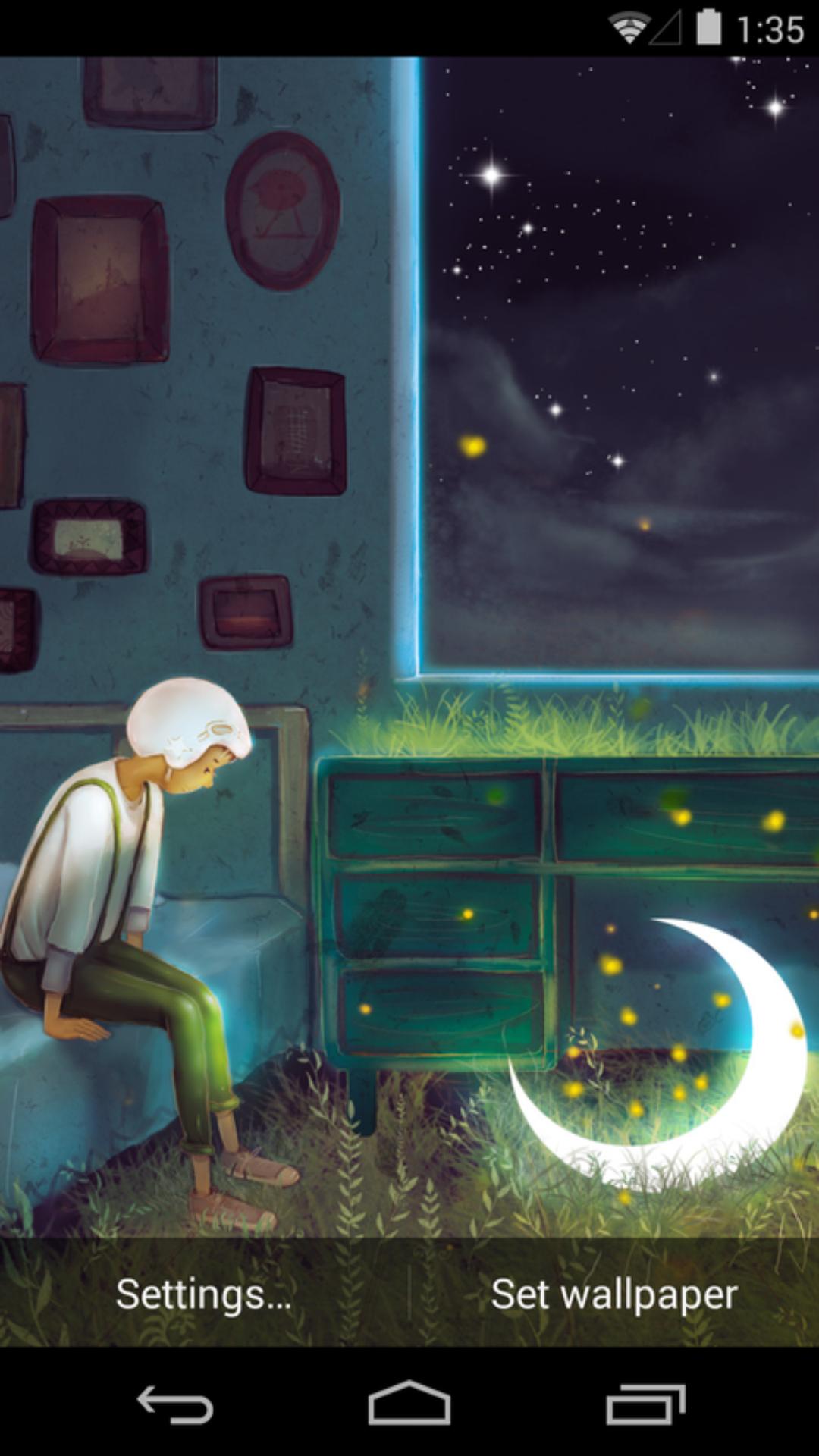 遇见孤单-梦象动态壁纸