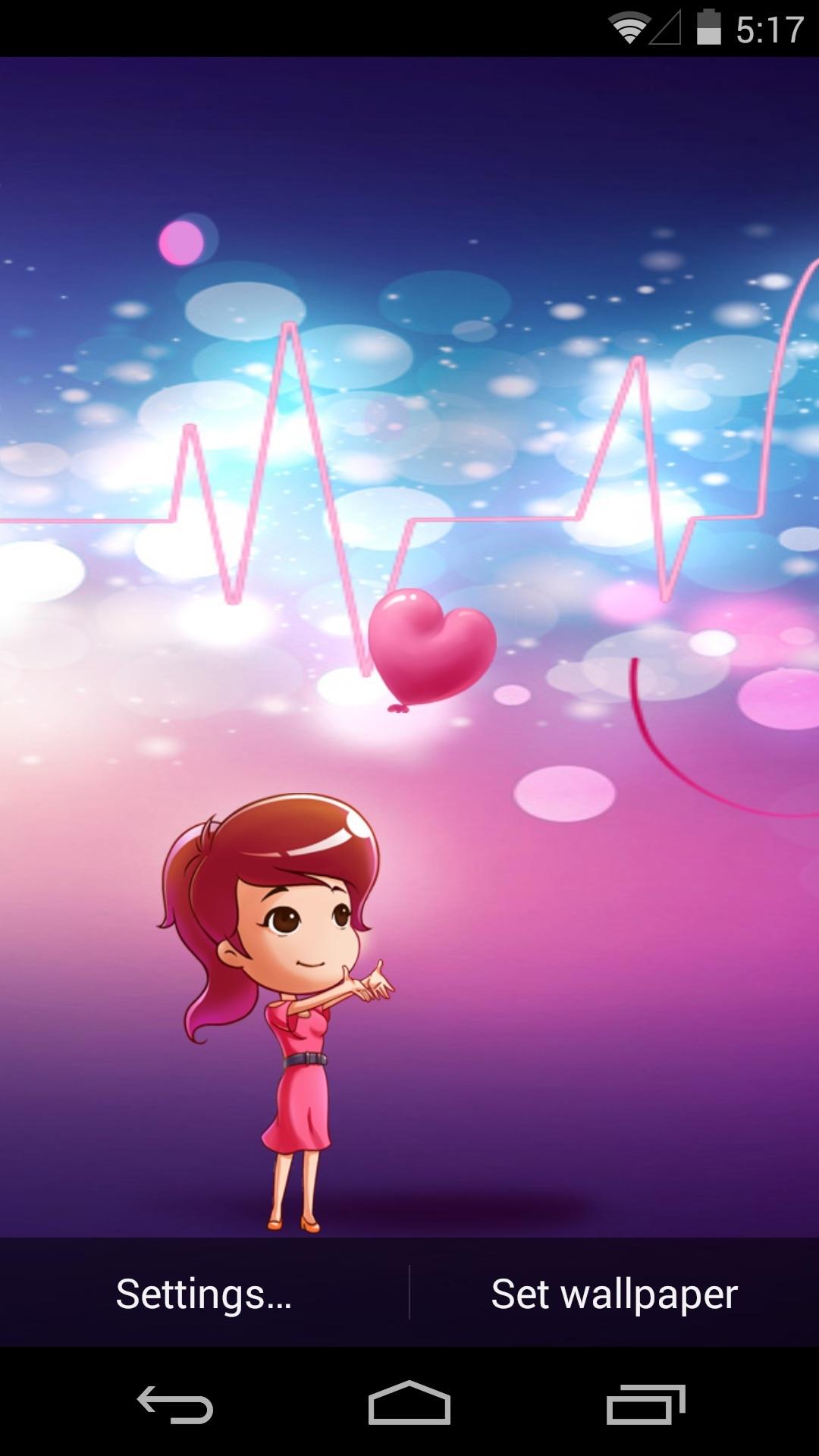 爱情心电图-梦象动态壁纸