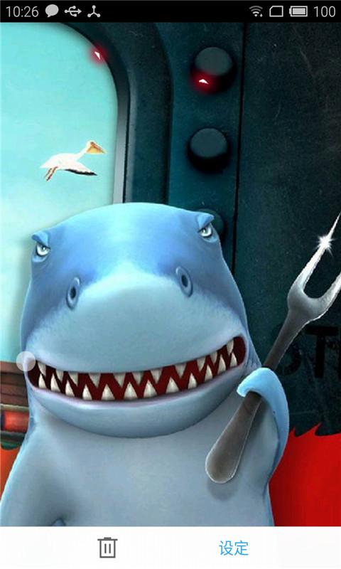 饥饿鲨太空之旅动态壁纸