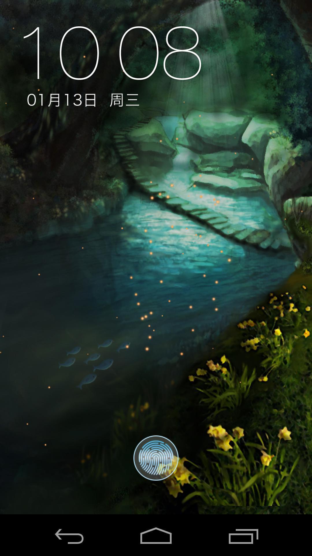 深穴萤火虫-梦象动态壁纸