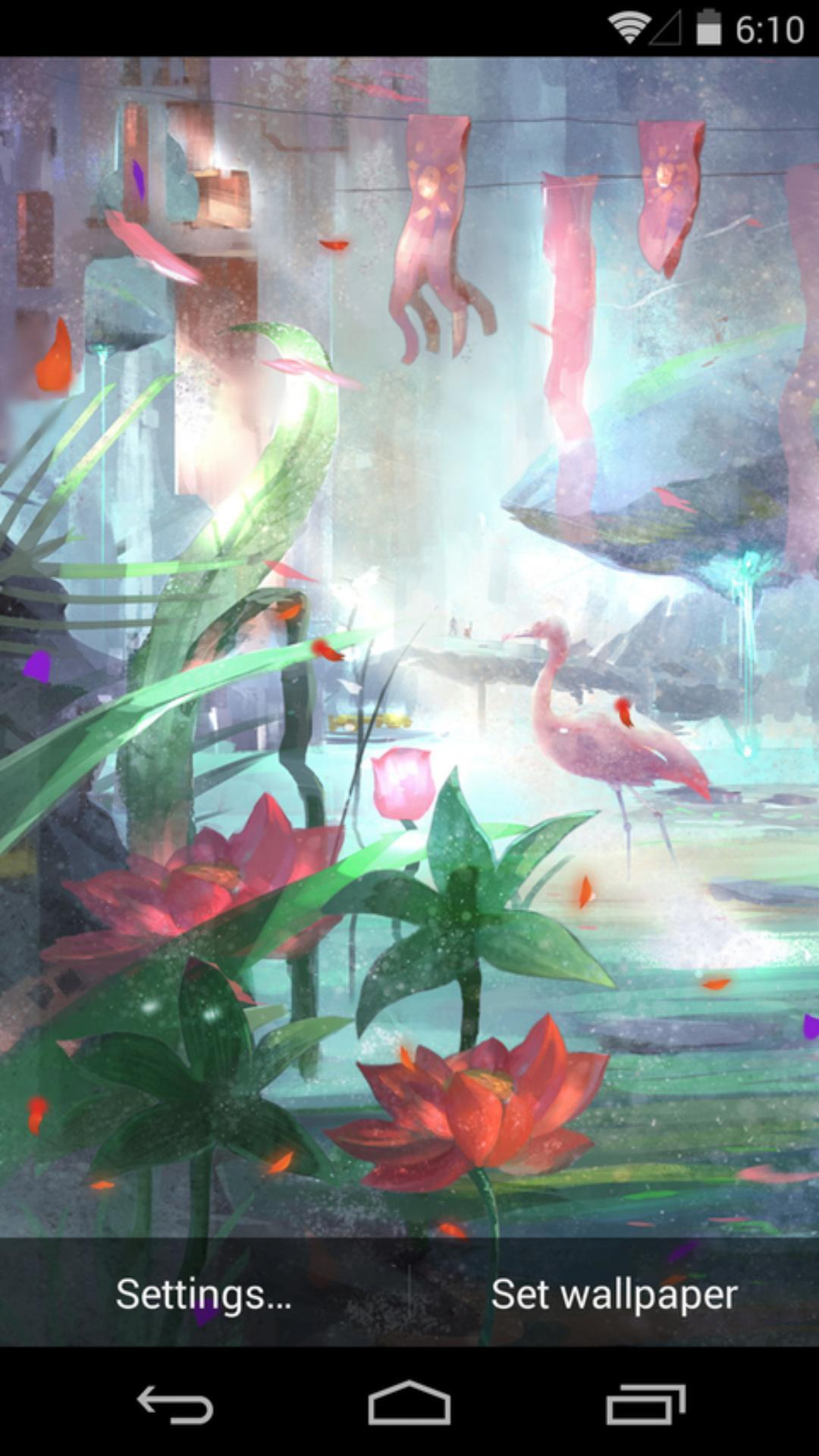 蝶湖-梦象动态壁纸
