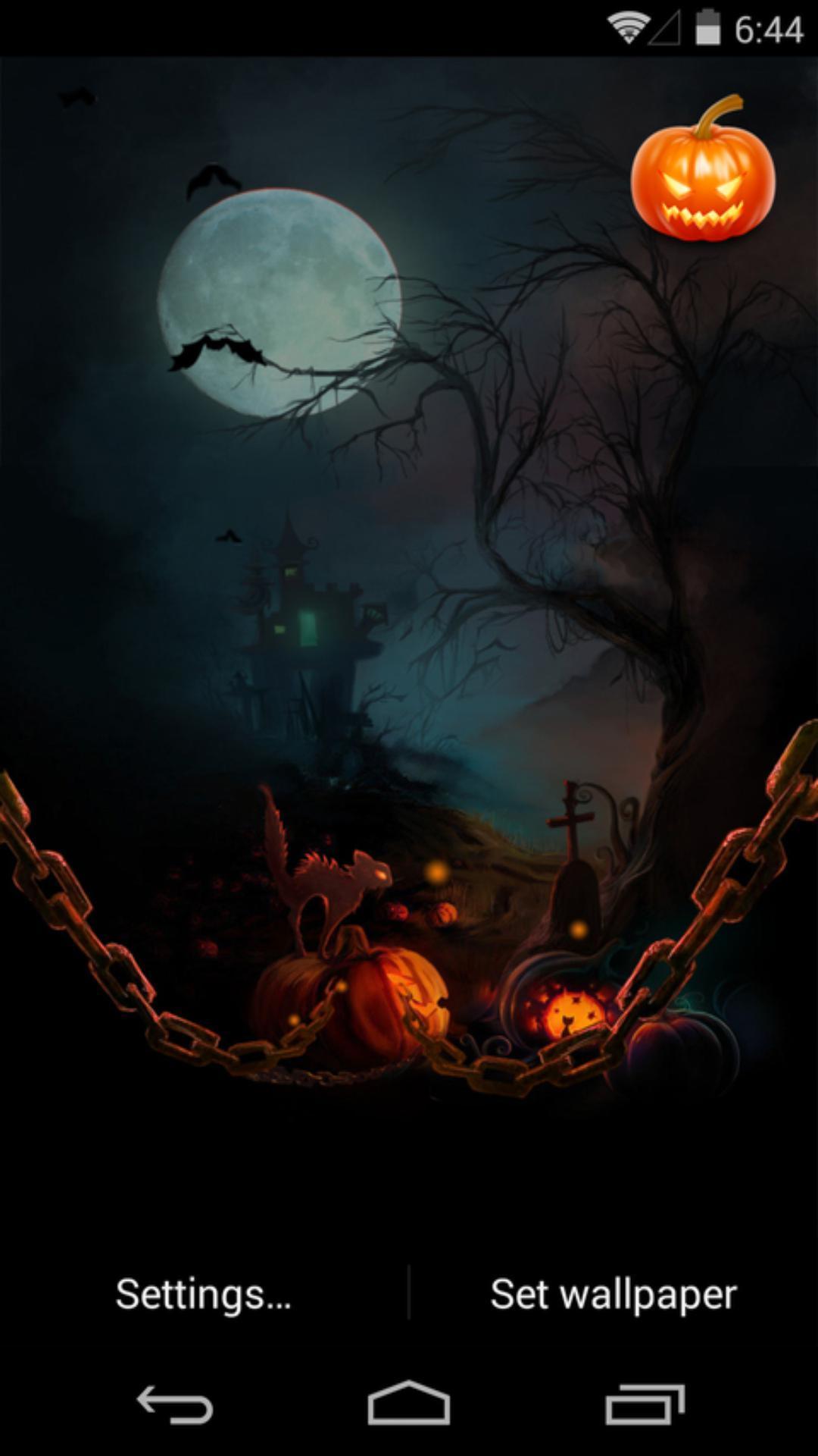 月黑风高夜-梦象动态壁纸