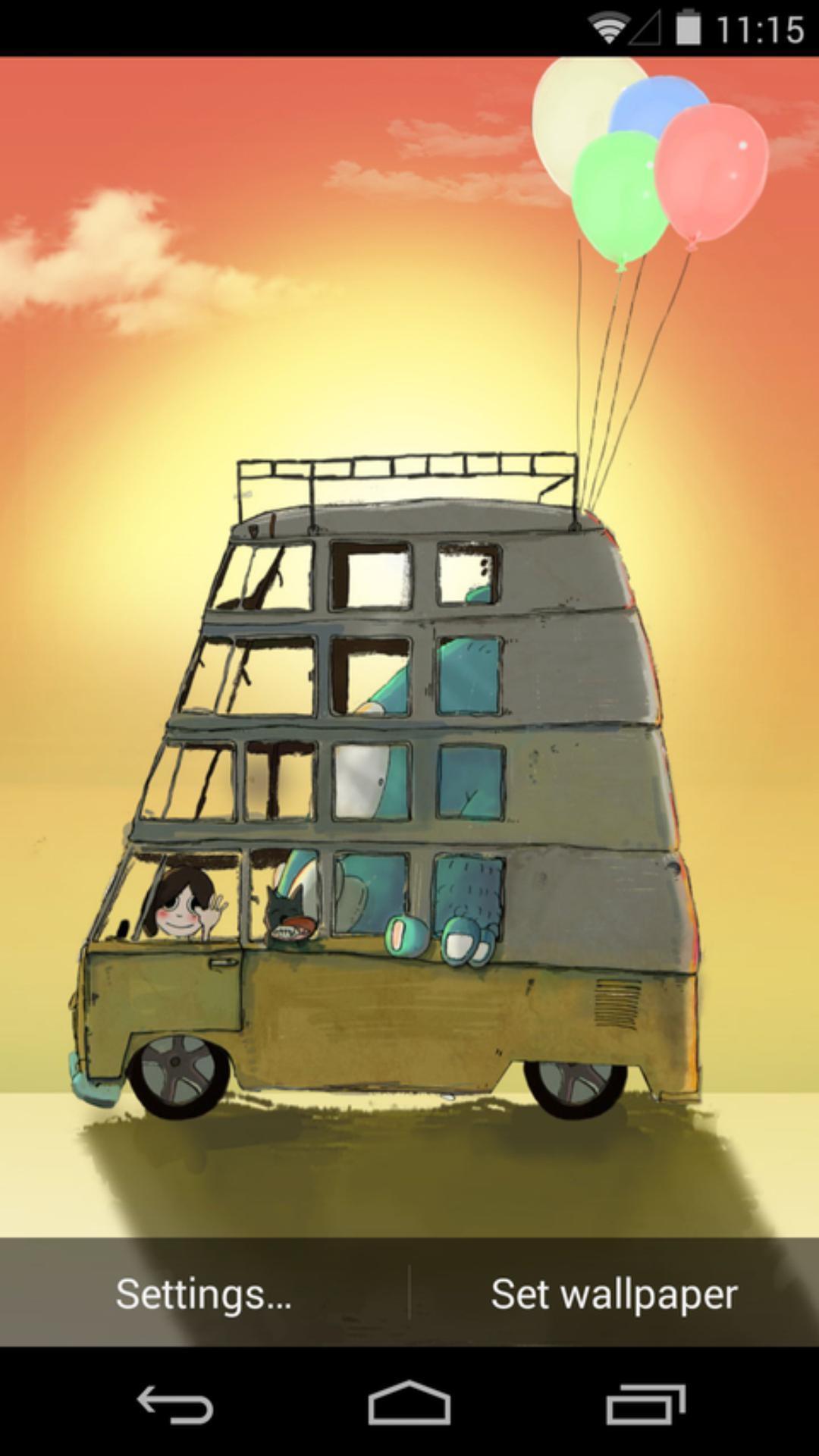 安戈力的旅行-梦象动态壁纸