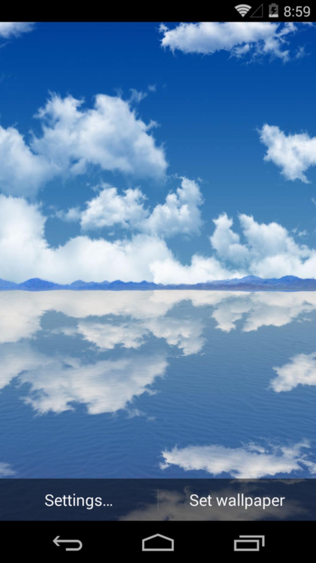 3D天空之镜-梦象动态壁纸