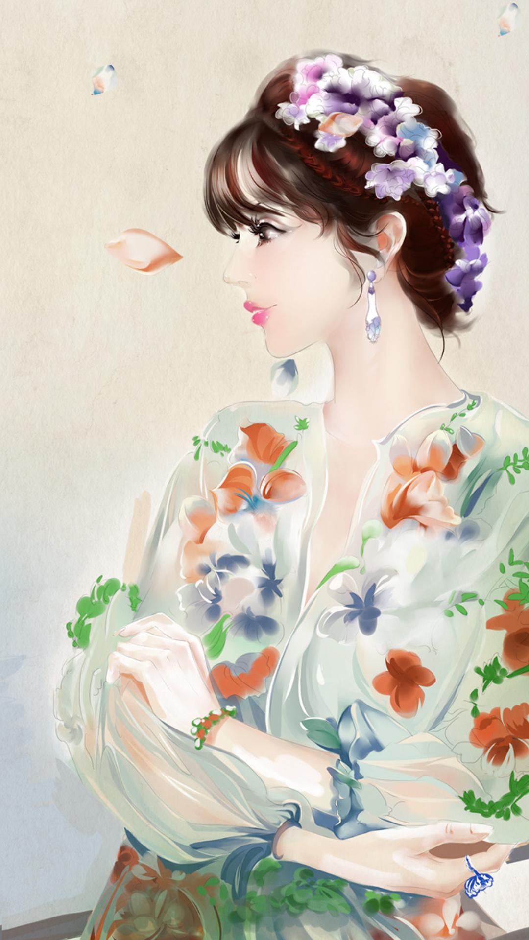 窈窕美人-梦象动态壁纸