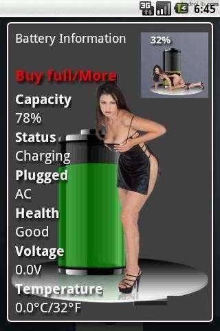 性感电量显示 Free Battery