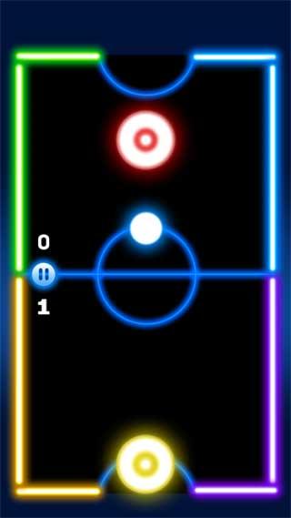 荧光曲棍球
