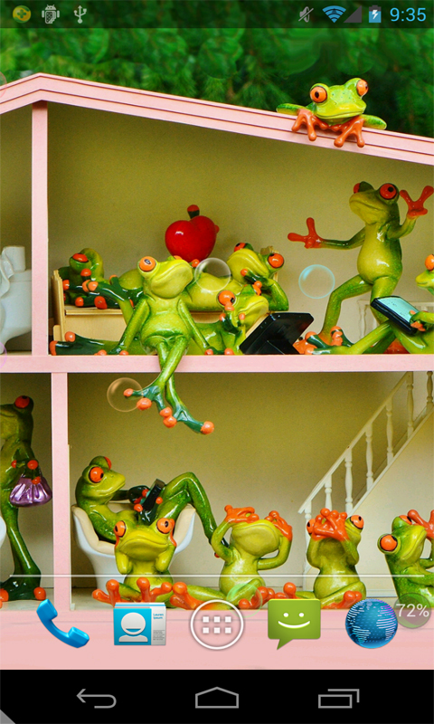 青蛙家庭动态壁纸