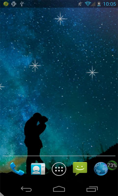 星夜动态壁纸