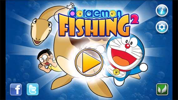 哆啦A梦钓鱼2