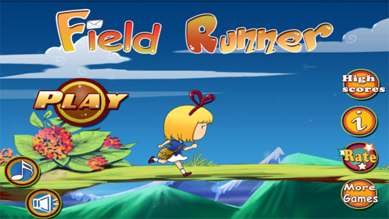 田野奔跑者