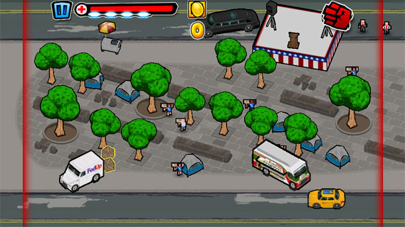 泰坦袭击华尔街