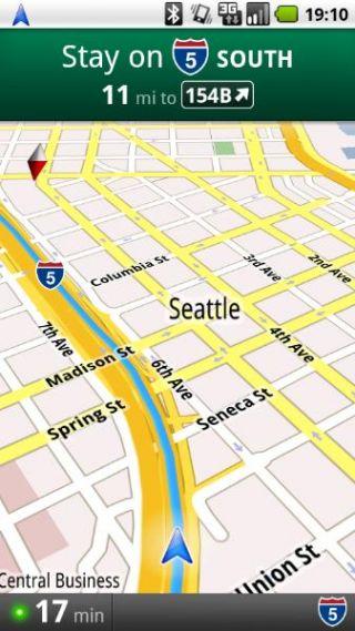 谷歌GPS导航