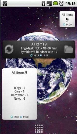 谷歌阅读桌面小插件 Reader Widget Pro