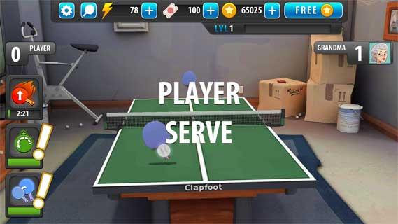 乒乓球大师