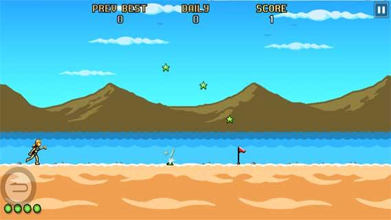 沙滩运动会