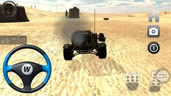 沙漠越野赛车