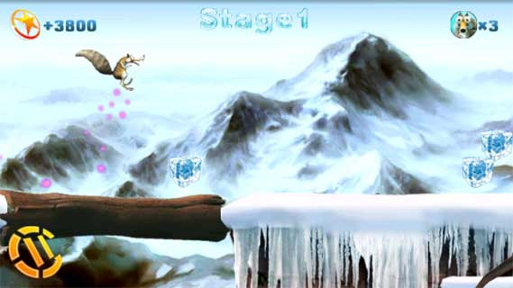 冰河世纪之雪中奔跑