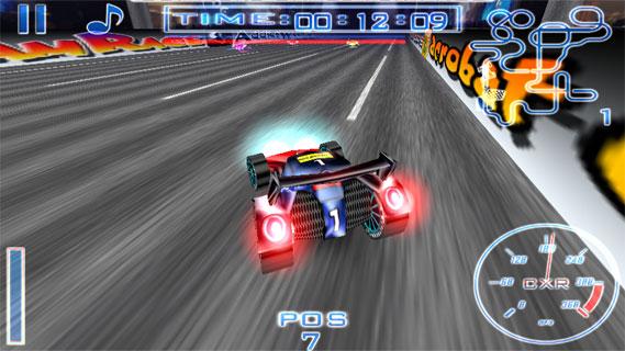 流光速赛车