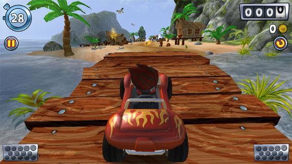 沙滩车闪电战