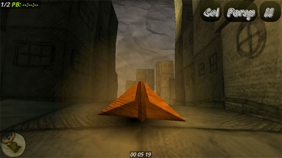 纸飞机竞速