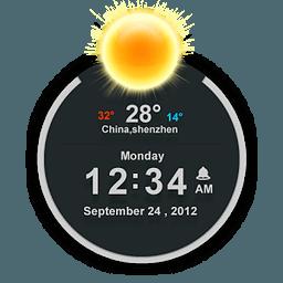 TSF 时钟小部件 2.1