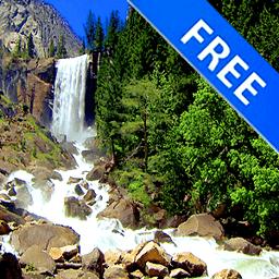 3D Nice Tall Waterfall Free 1.4