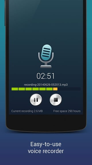 高品质MP3录音机