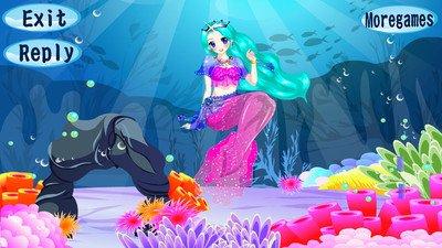美人鱼公主换装