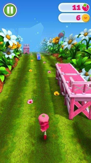 草莓公主水果跑酷