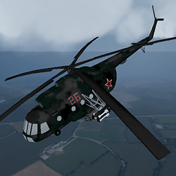 直升机飞行模拟...