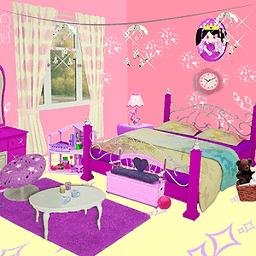 公主的房间装饰
