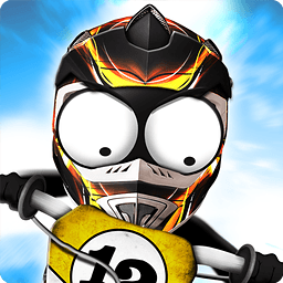 火柴人下坡:越野摩托车