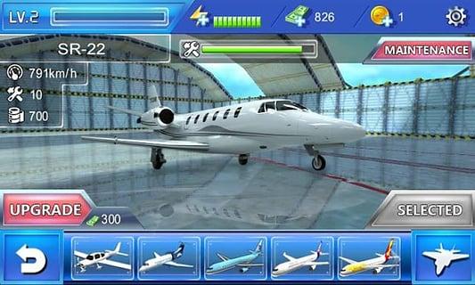 飞机仿真 --> 飞机仿真 描述 你是否曾经梦想成为一名专业的飞行员?现在飞机仿真器即可实现,带你翱翔蓝天,完成挑战! 秀美靓丽的蓝天和令人激动的飞行操作都可以在飞机仿真器中体验。在这里你可以驾驶如B777、F35、空军一号、V-22等著名飞机,在14个不同场景中穿梭翱翔,并且完成包括营救、运输、空投、紧急迫降、飞行训练、轰炸目标等各种惊险、刺激、好玩的挑战任务,最终获得传奇飞行员的称号。不要让你的梦想被埋没,现在就来成就你的荣耀时刻。 游戏特性 - 24种飞机,让你在蓝天中尽情翱翔 - 10种游戏玩法