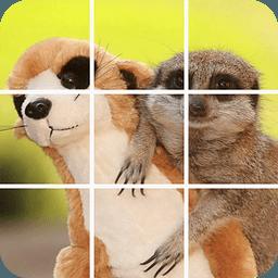 奇趣动物拼图