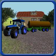 拖拉机粪便运输车3D 3.6