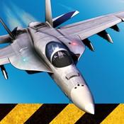 F18舰载机模拟起...