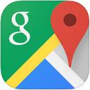 谷歌地图iPad版...