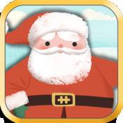 圣诞节儿童游戏:幼儿,男孩和女孩的高清酷圣诞老人,雪人和驯鹿