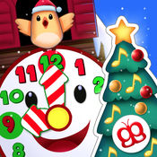 惊奇圣诞玩具时钟 - 圣诞倒数计时 Peekaboo Christmas Clo